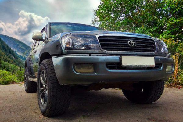 Расширители арок Toyota Land Cruiser 100