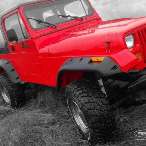 Расширители арок Jeep Wrangler