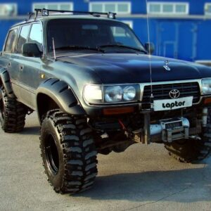 Расширители колесных арок Toyota Land Cruiser 80 (130 мм)