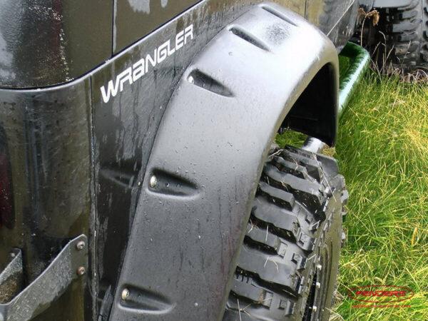 Расширители колесных арок Jeep Wrangler (заднее крыло)