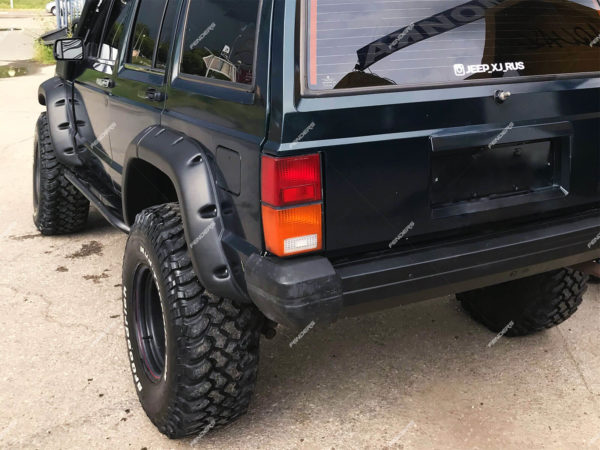 Силовые расширители арок Jeep Cherokee XJ сзади
